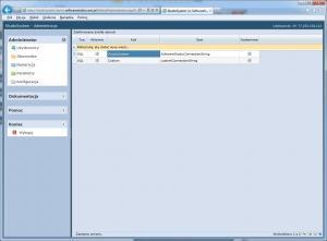 konfiguracja oprogramowania zdefiniowane źródła danych tabela