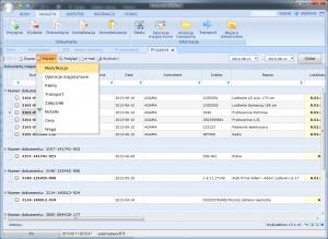 dostawy bezpośrednie PZB bufor edycja modyfikacja dokumentu
