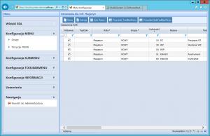 konfiguracja menu grupy pozycje menu lista