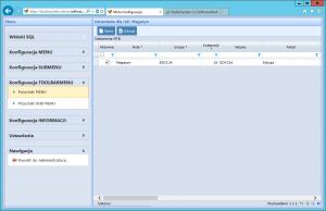 konfiguracja toolbarmenu przyciski menu