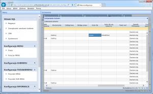 widok SQL edycja kolumny DNI kolor tła