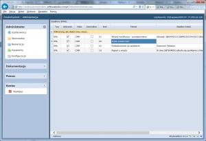 systemowe szablony EML tabela