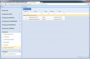 konfiguracja excel schematy importu danych