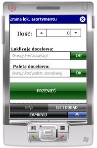 Drugie okno transakcji ESM_ZL_A