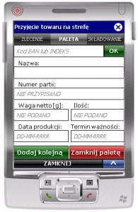 Drugie okno transakcji ESM_ZL_SK