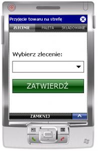 Okno transakcji ESM_ZL_SK
