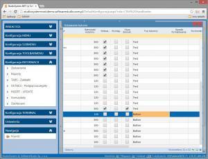 y_insert_update pasek przycisków konfiguracja typ kolumny button