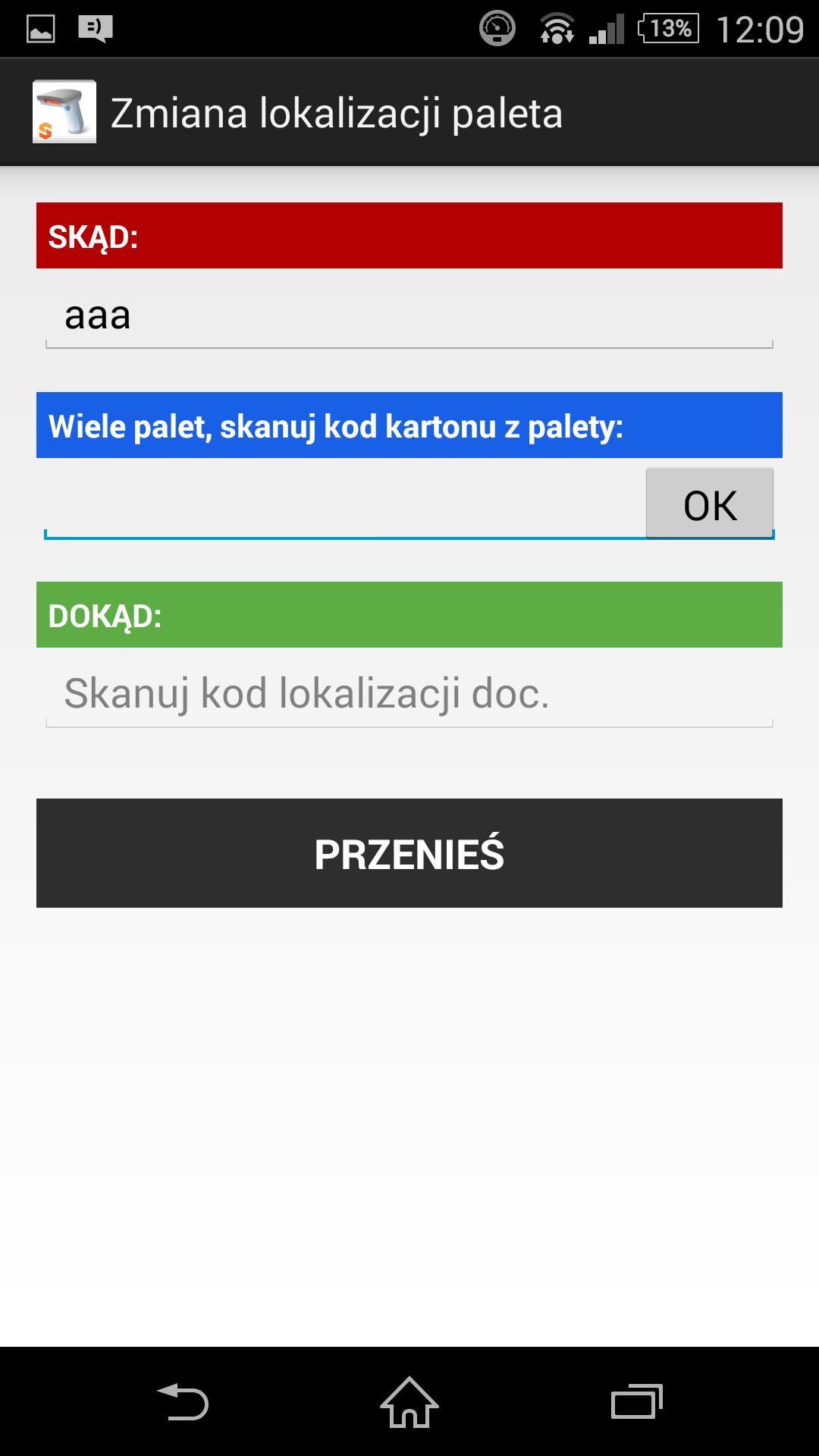 program magazynowy windows mobile