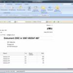 Wydruk dokumentu WZB