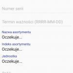 Android WMS inwentaryzacja