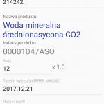 Android WMS przyjęcie