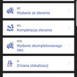 mobilna aplikacja magazynowa