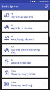 aplikacja magazynowa Android