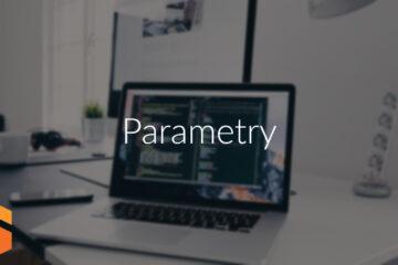 Parametry aplikacji