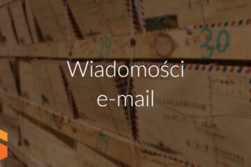 Wysyłanie maili